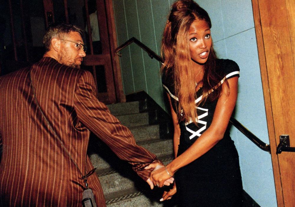 Adam Clayton e Naomi Campbell, prova fotografica che era tutto vero.