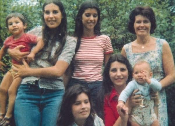 Le donne della famiglia Oesterhled (e nipotini)