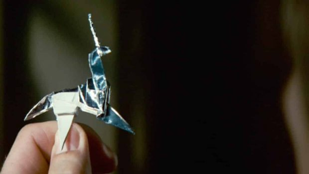 L'unicorno origami di Blade Runner