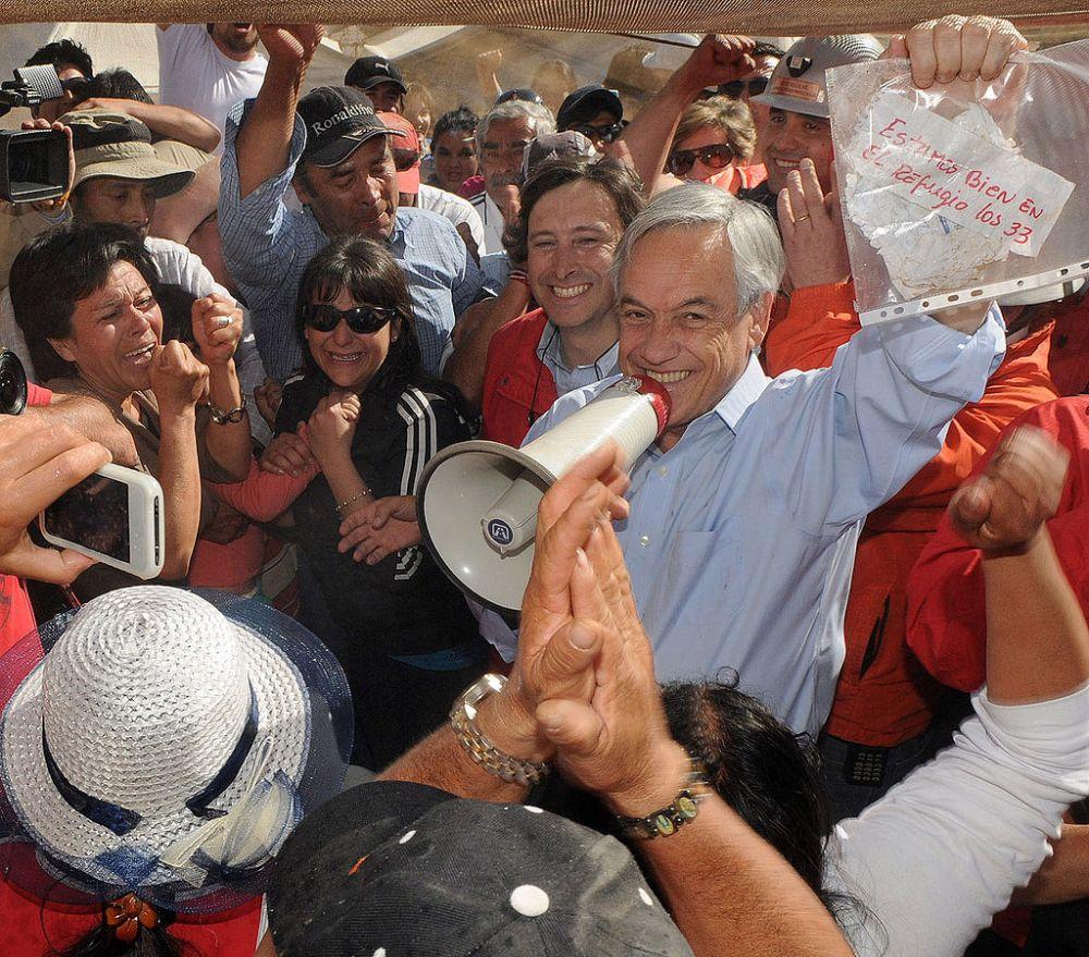 Il presidente Piñera Cile